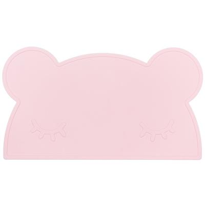*Placemat bear silicone we might be tiny - powder pink