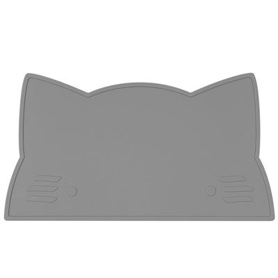 Placemat cat silicone we might be tiny - grey