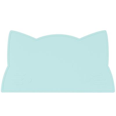 Placemat cat silicone we might be tiny - minty green