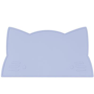 Placemat cat silicone we might be tiny - powder blue