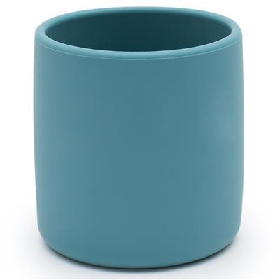Beker silicone we might be tiny - blue dusk