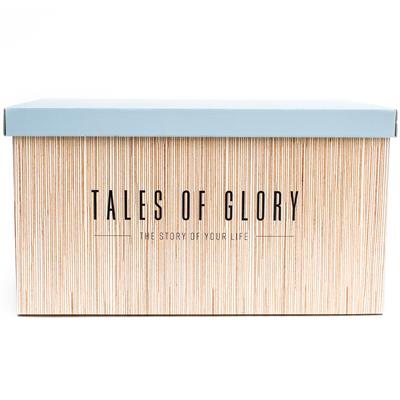 Baby milestone box Tales of Glory - blue