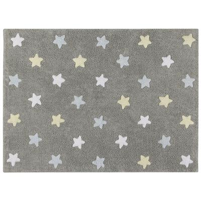 Tapijt stars tricolor Lorena Canals - grey - blue