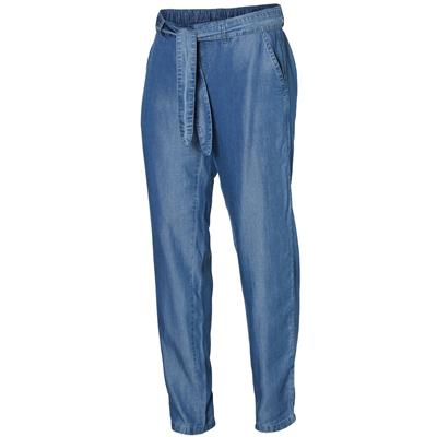 Broek Lydia Mamalicious - light blue denim