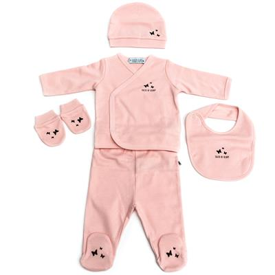 Newborn set organic (5st.) Bloom Tales of Glory - pink