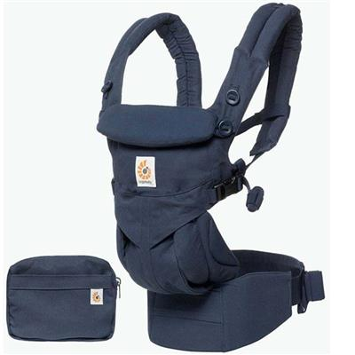 Babydraagzak omni 360 cool air mesh Ergobaby - midnight blue