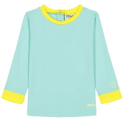 T-shirt anti-UV (UPF 50+) top pop Ki ET LA - green-yellow