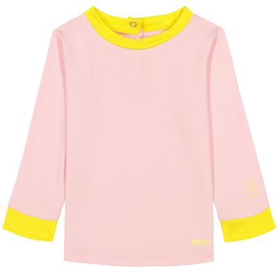 T-shirt anti-UV (UPF 50+) top pop Ki ET LA - pink-yellow