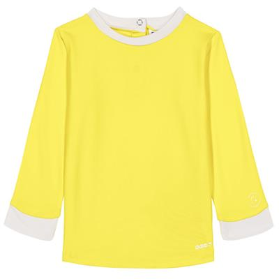 T-shirt anti-UV (UPF 50+) top pop Ki ET LA - yellow-white