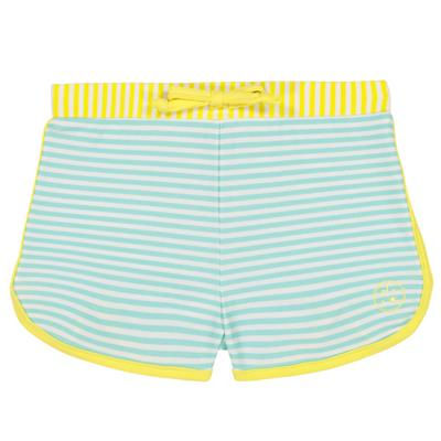 Zwemshort anti-UV (UPF 50+) screech Ki ET LA - stripegreen