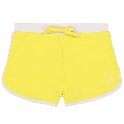 Zwemshort anti-UV (UPF 50+) screech Ki ET LA - yellow-white