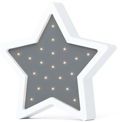 Nachtlamp led eco ster SABO CONCEPT - grey