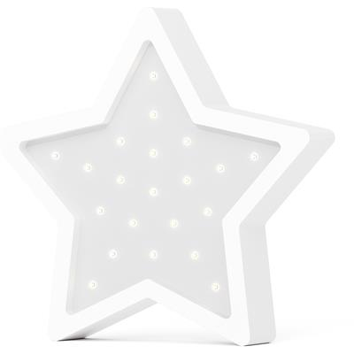 Nachtlamp led eco ster SABO CONCEPT - white