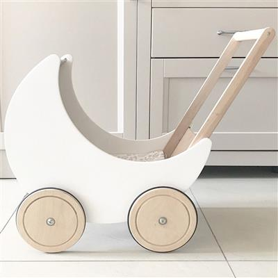 *Poppenwagen maan SABO CONCEPT - white