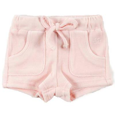 Short shorty Natini - pink broderie