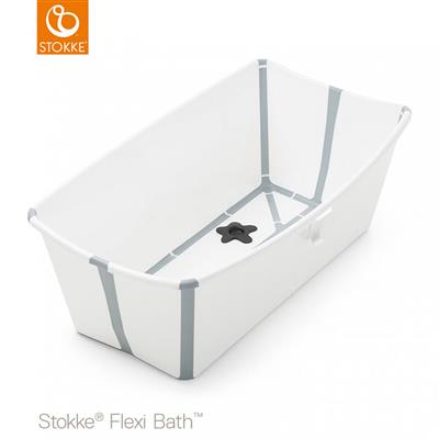 Badje flexi bath (incl. newborn support) Stokke® - white