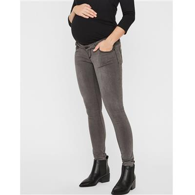 Jeansbroek Lola 34'' Mamalicious - grey denim