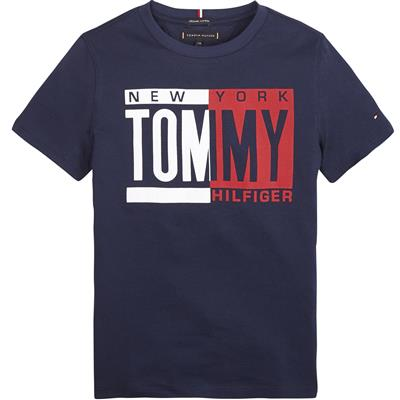 T-shirt Tommy Hilfiger - black iris