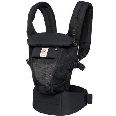 Draagzak adapt cool air mesh Ergobaby - onyx black