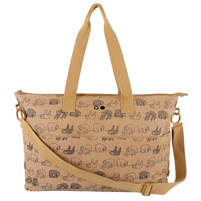 Mommy tote bag Trixie - silly sloth
