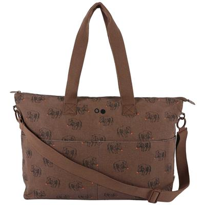 Mommy tote bag Trixie - truffle pig