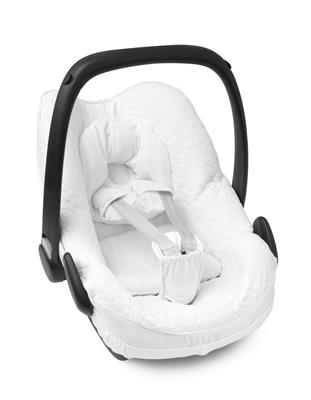 Hoes voor maxi-cosi (pebble pro) First - G.CRYSTAL WHITE