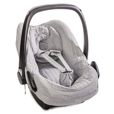Hoes voor maxi-cosi (pebble pro) First - endless grey (grey)