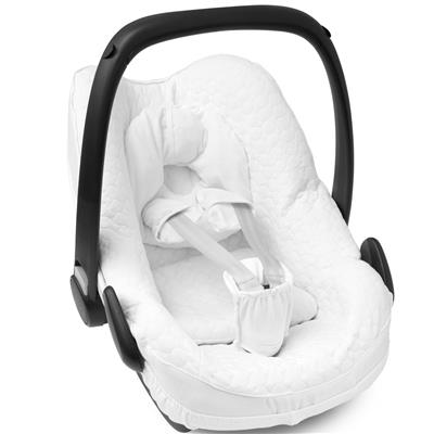 Hoes voor maxi-cosi (pebble) First - G.CRYSTAL WHITE