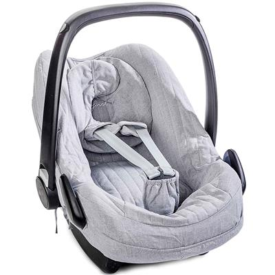 Hoes voor maxi-cosi (pebble) First - endless grey (grey)