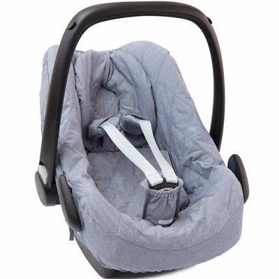Hoes voor maxi-cosi (pebble) First - true blue (denim)