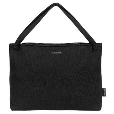 Verzorgingstas on the go bag House of Jamie - geometry jacquard - black