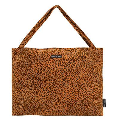 Verzorgingstas on the go bag House of Jamie - golden brown leopard