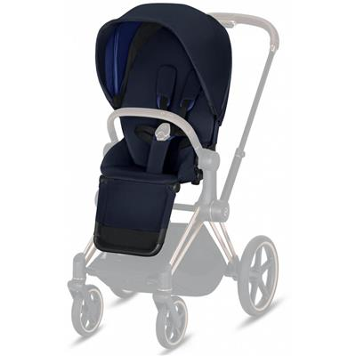Buggyzit (plus) voor kinderwagen priam Cybex - midnight blue (blue)