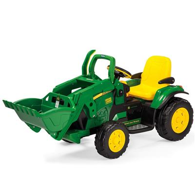 Elektrische traktor ground loader (12V) John Deere