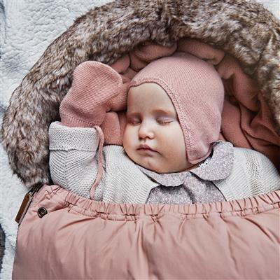 Babymuts vintage Elodie - faded rose