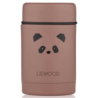 Lunch box Nadja Liewood - panda (dark rose)