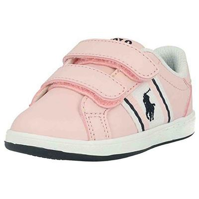 Schoen Oaklynn Ralph Lauren - light pink smooth - white - navy - red w navy pp