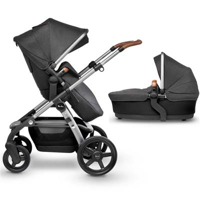 Kinderwagen wave pram 2.00 Silver Cross - granite