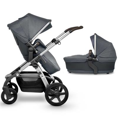 Kinderwagen wave pram 2.00 Silver Cross - slate