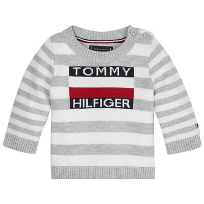 Sweater Tommy Hilfiger - bright white/ twilight navy