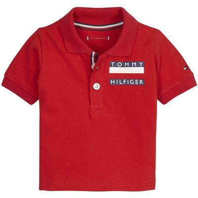 Polo Tommy Hilfiger - racing red