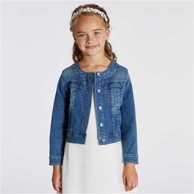 Jeansjacket Cecile Blue Bay - denim blue