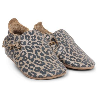 Soft soles giants Bobux - gold leopard