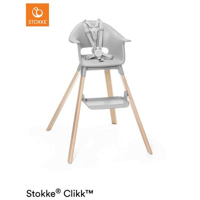 Eetstoel clikk Stokke® - cloud grey
