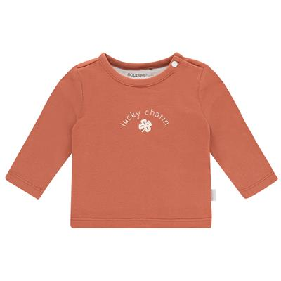 T-shirt Alsira Noppies Newborn - Spicy Ginger