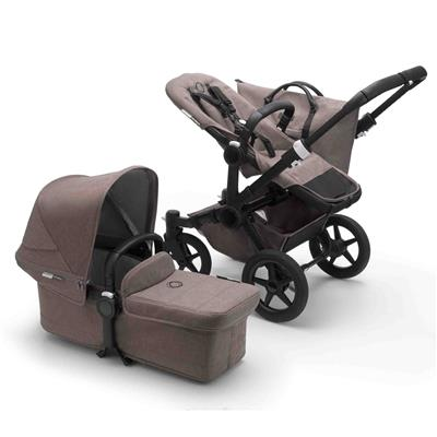 Kinderwagen Donkey3 (mineral, complete) Bugaboo - black - taupe