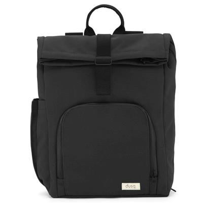 Verzorgingstas vegan bag (canvas) dusq - night black