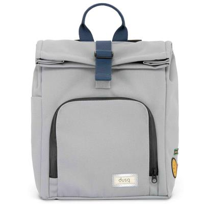 Verzorgingstas mini bag (canvas) dusq - cloud grey - ocean blue