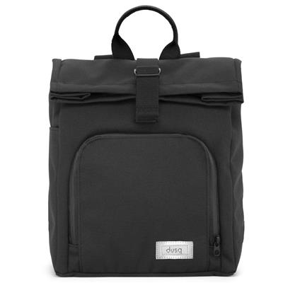 Verzorgingstas mini bag (canvas) dusq - night black - all black