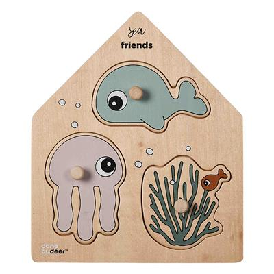 Puzzel sea friends Done by Deer